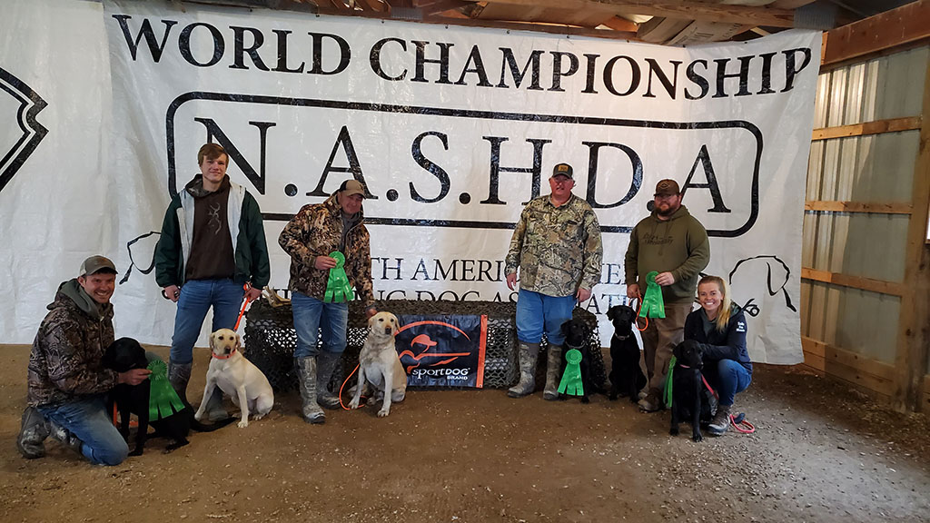 Top Finishers of the 2021 Master Shed Dog World Championships